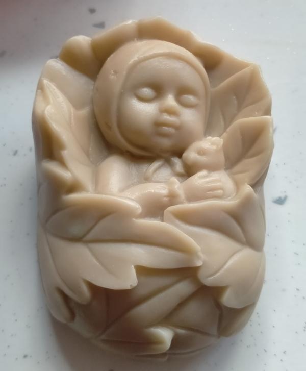 Jabón bebé osito
