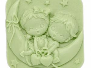 Jabón niños en luna