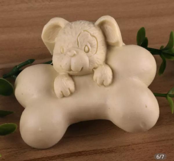 Jabón perrito hueso