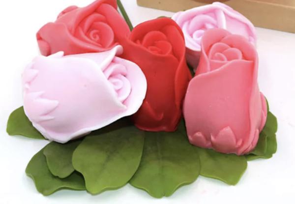 Jabón rosa