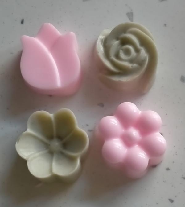 Jabones flor
